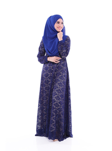 NADHIRAH 04 - NAVY BLUE